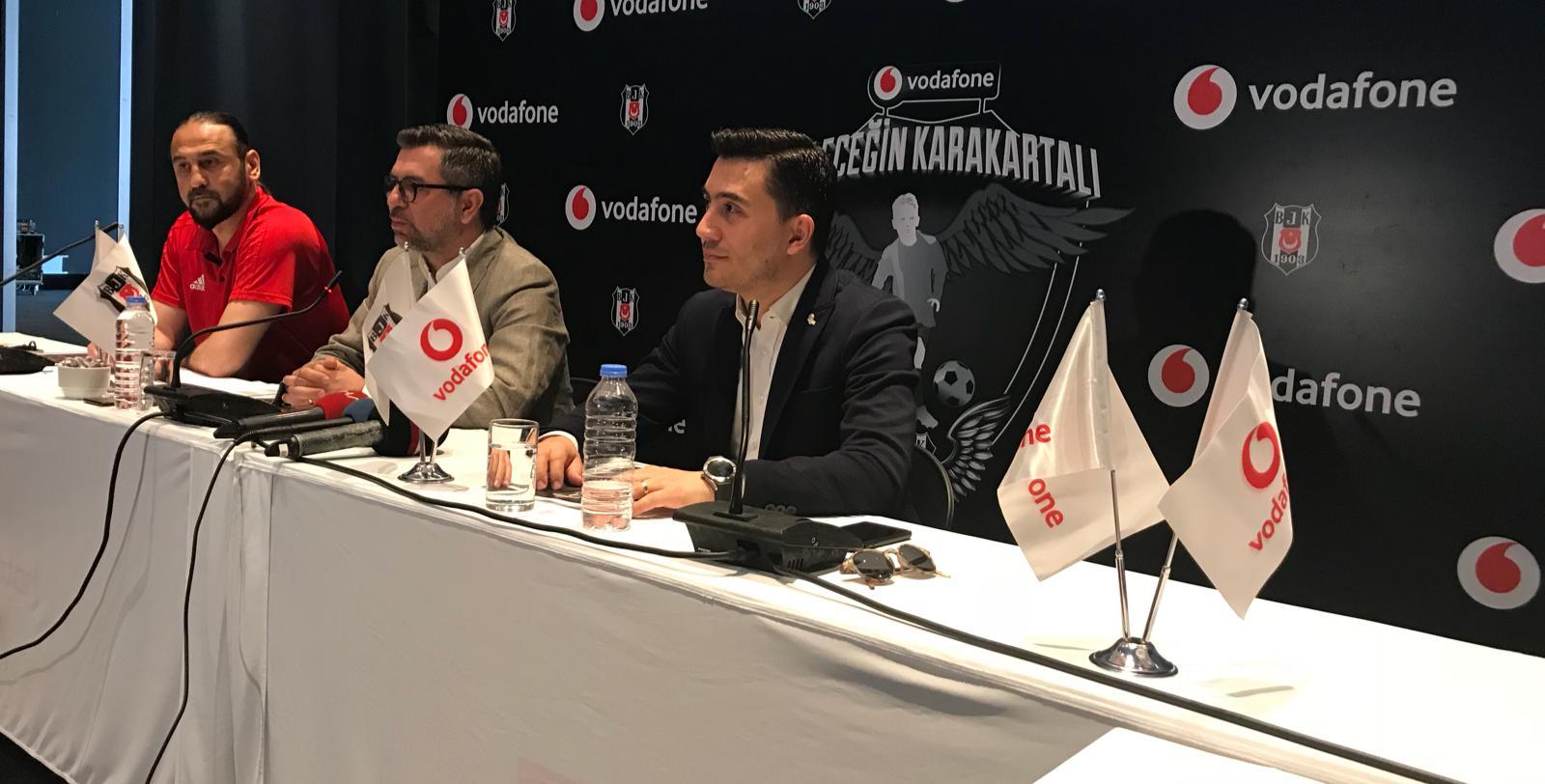 Vodafone Geleceğin KaraKartalı Projesi'nin Antalya ayağı gerçekleşti! Genç yetenekler en fazla sevdikleri oyuncuları söylediler