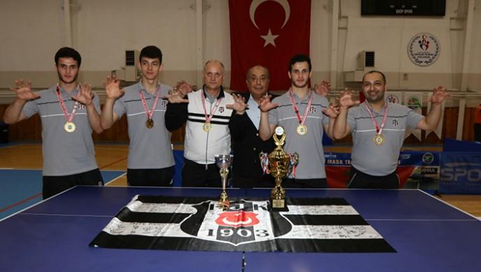 Şampiyon Beşiktaş Masa Tenisi Takımı, Türkiye Kupası finallerinde mücadele edecek