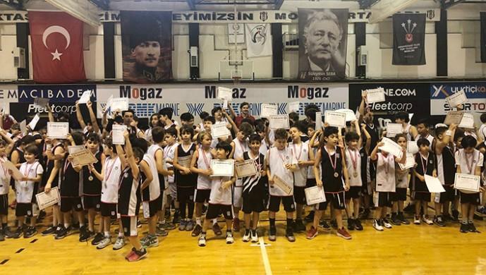 Beşiktaş Basketbol Okulları Kış Kapanış Töreni yapıldı