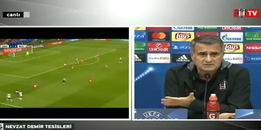 Şenol Güneş'ten Benfica maçı öncesi açıklamalar