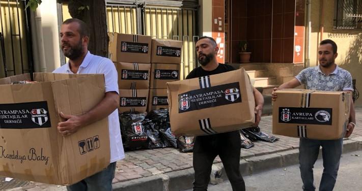 Bayrampaşa Beşiktaşlılar Derneği'nden Bayram kıyafeti