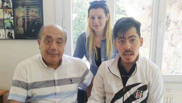 Bedensel Engelliler Atletizm Türkiye Şampiyonu Mehmet Murat Tunca Beşiktaş'ı temsil edecek