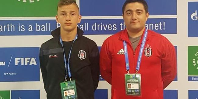 Beşiktaşlı Semih Kılıçsoy Moskova'da Türkiye'yi temsil etti