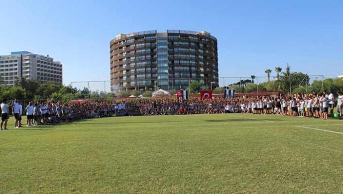 Beşiktaş JK Spor Okulları Yaz Kampı Kapanış Töreni yapıldı