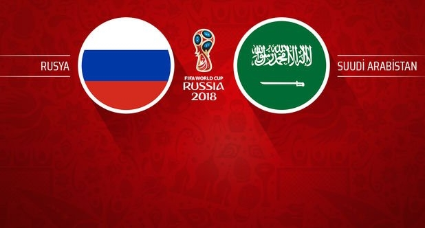 Rusya, Suudi Arabistan'ı 5 golle devirdi!