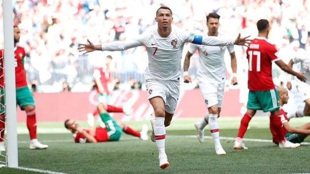 Portekiz Ronaldo'nun golüyle kazandı!