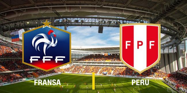 Fransa - Peru maçının 11'leri belli oldu!
