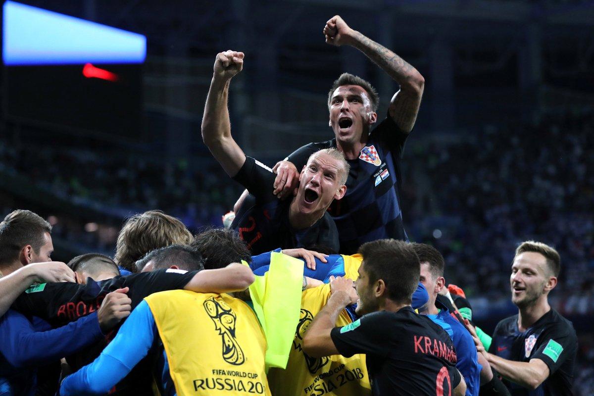 Vidalı Hırvatistan, Arjantin'i perişan etti!