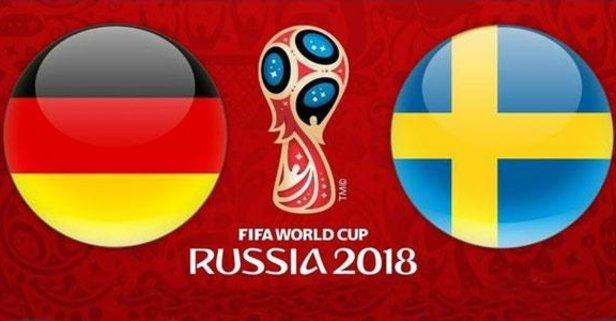 Almanya - İsveç maçının 11'leri belli oldu!