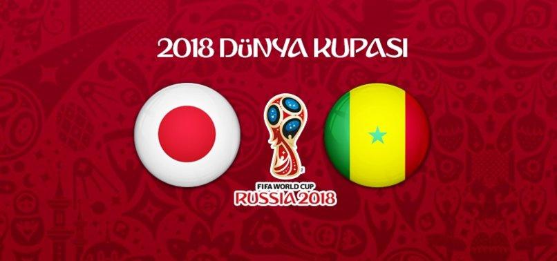 Japonya - Senegal maçı ne zaman, saat kaçta, hangi kanalda? .