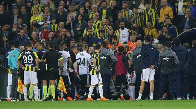 Olaylı Fenerbahçe-Beşiktaş derbisi soruşturmasında flaş gelişme