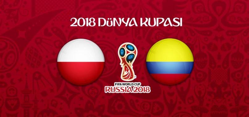 Polonya - Kolombiya maçı ne zaman, saat kaçta, hangi kanalda?