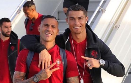 Ronaldo'dan Quaresmalı paylaşım!