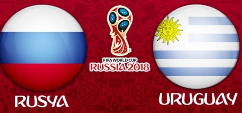 Uruguay - Rusya maçının 11'leri belli oldu!