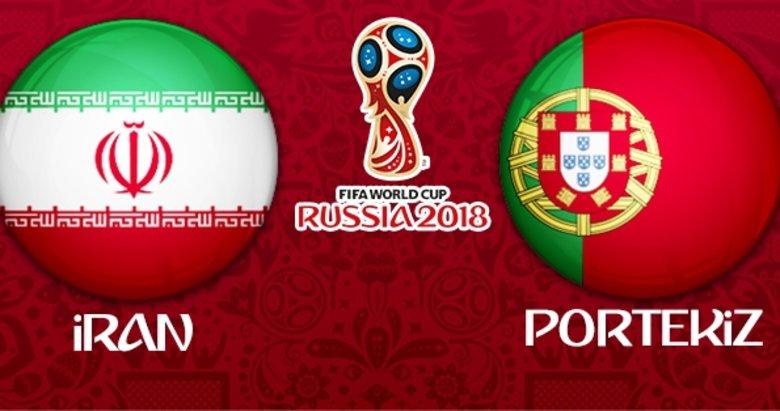 İran - Portekiz maçının 11'leri belli oldu! Pepe ve Quaresma...