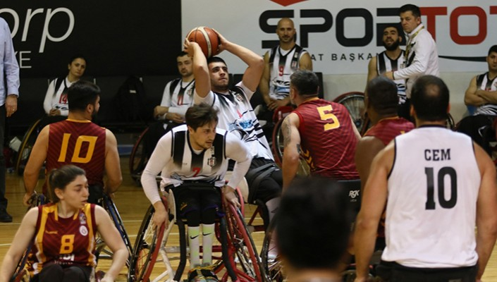 Tekerlekli Sandalye Basketbol Süper Ligi finalinde rakip Galatasaray