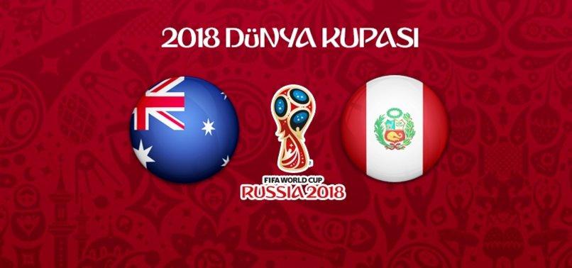 Peru, Avustralya'ya şans tanımadı!
