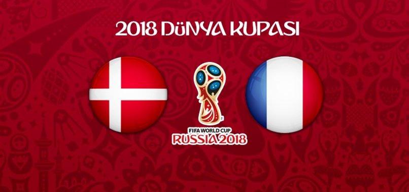 Danimarka - Fransa maçından gol sesi gelmedi!