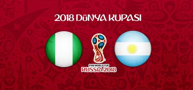 Nijerya - Arjantin maçı ne zaman, saat kaçta,  hangi kanalda?