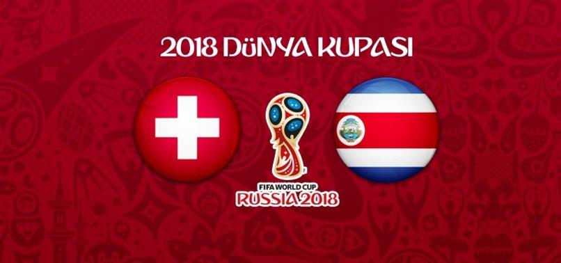 İsviçre - Kosta Rika maçı ne zaman, saat kaçta, hangi kanalda?
