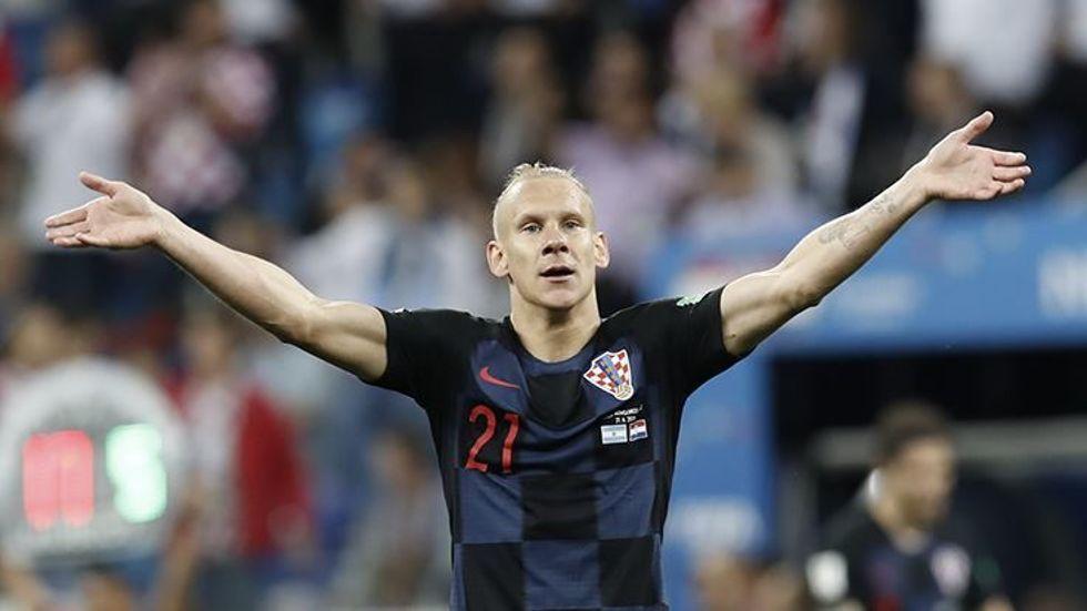 Domagoj Vidalı Hırvatistan, çeyrek finalde!