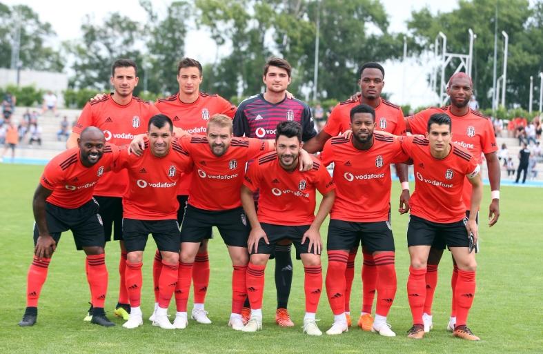 Beşiktaş ikinci hazırlık maçında farklı kazandı!