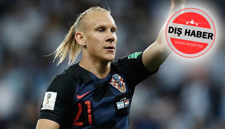 """Domagoj Vida Hırvat basınına konuştu! """"Bizim için altınsınDomagoj"""""""