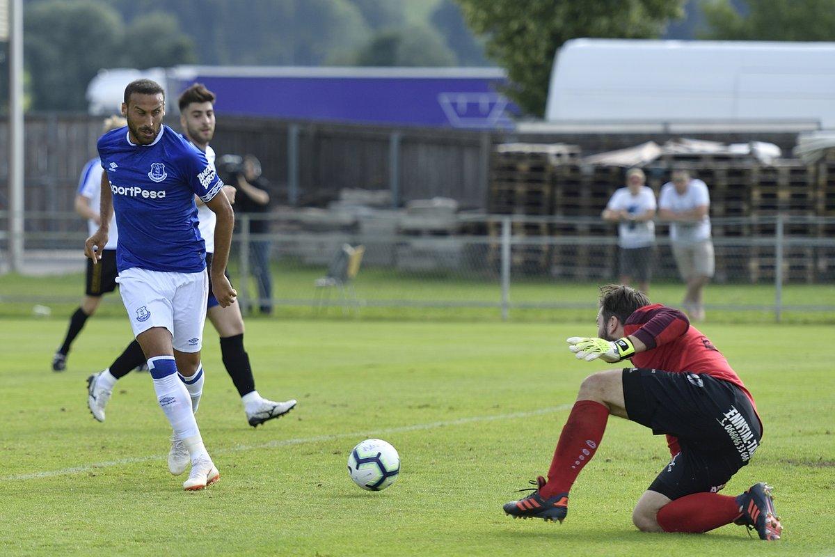 Everton hazırlık maçında 22 gol attı! 4 tanesi Cenk Tosun'dan...