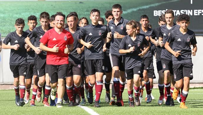 Beşiktaş U-15 Akademi Takımı, 2018-2019 sezonu hazırlıklarına başladı