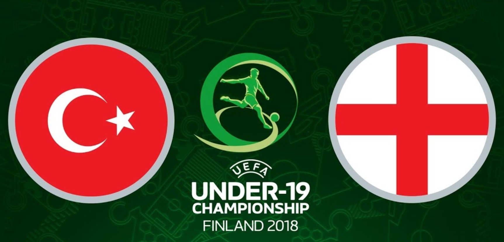Türkiye - İngiltere CANLI yayın (U19 Avrupa Şampiyonası CANLI izle)