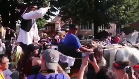 Domagoj Vida, Slavonya'da krallar gibi karşılandı