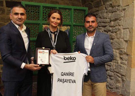 Azerbaycan Beşiktaşlılar Derneği'nden önemli ziyaret!