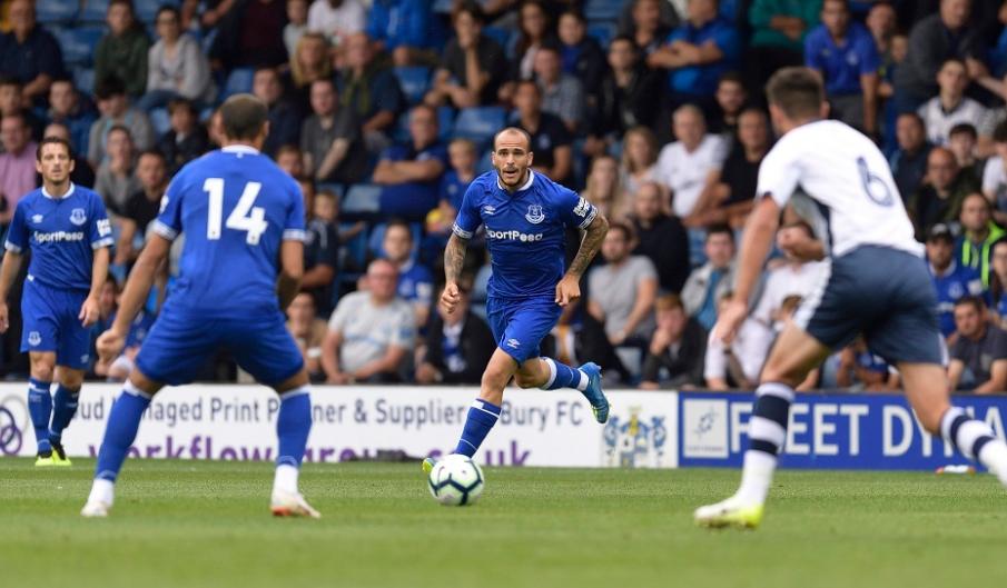 Cenk Tosun'un takımı Everton, hazırlık karşılaşmasında berabere kaldı!