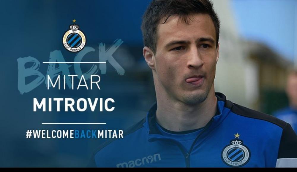 Club Brugge, Mitrovic transferini resmen açıkladı!