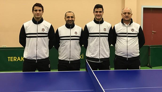 Beşiktaş masa tenisinde çeyrek finalde