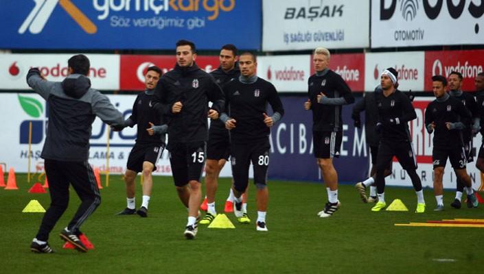 Beşiktaş'ta Başakşehir maçı hazırlıkları tamamlandı