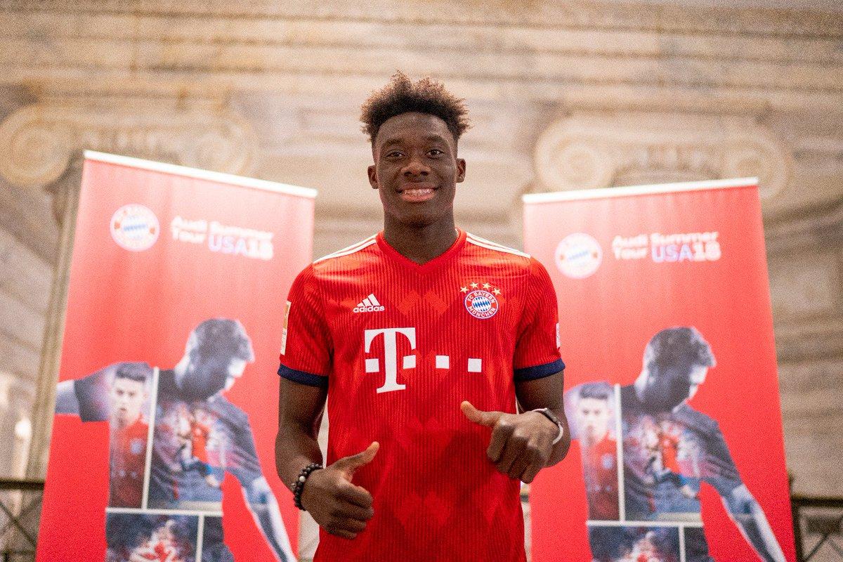 Alphonso Davies resmen Bayern'de!