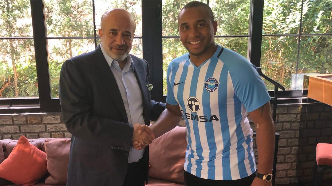 """Adana Demirspor'un yeni transferi Anderson: """"Buraya gelmeden önce Quaresma, Pepe gibi arkadaşlarım ile konuştum"""""""