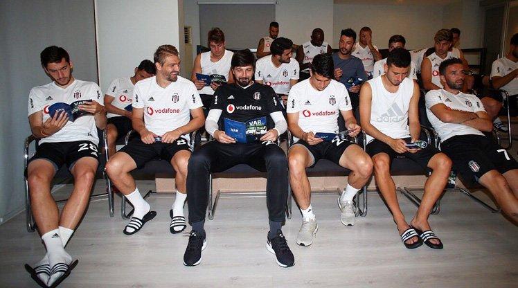 Beşiktaş'a VAR eğitimi!