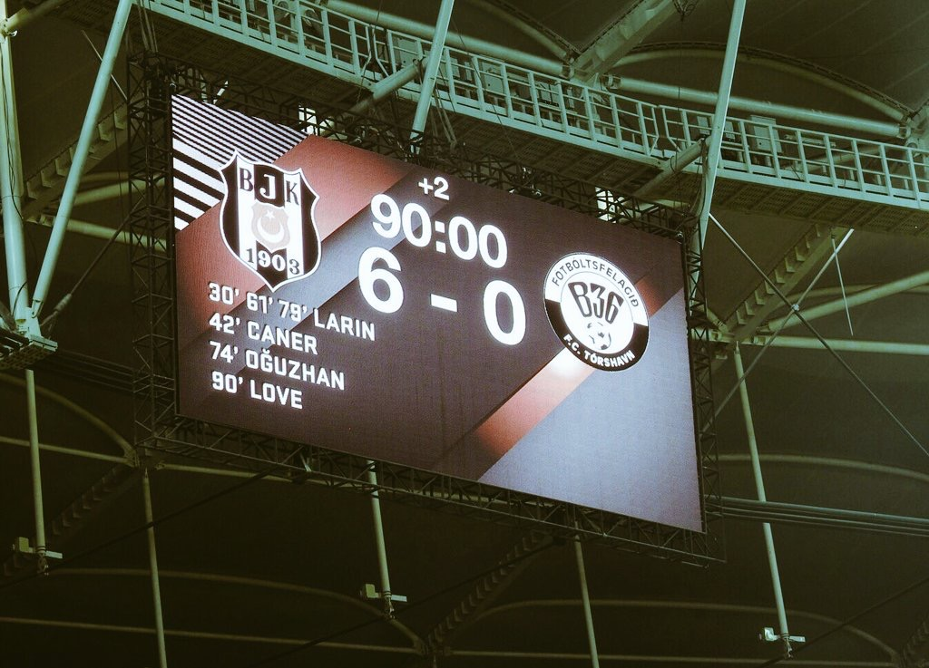 Beşiktaş, Avrupa'da rekor kırdı! En farklı galibiyet...
