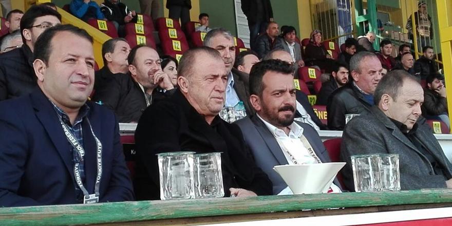 Fatih Terim, Beşiktaş'ın rakibini izledi