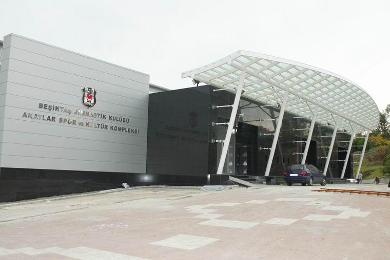 BJK Akatlar Spor Kompleksi'ndeki güvenlik sistemiyle tüm yapı kontrol altında