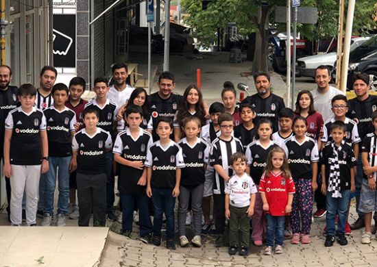 Gediz Beşiktaşlılar Derneği'nden anlamlı etkinlik