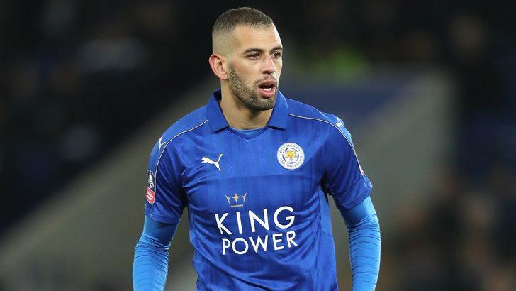 İngiliz basınından flaş iddia! Beşiktaş, Leicester City'nin golcüsü Slimani için...