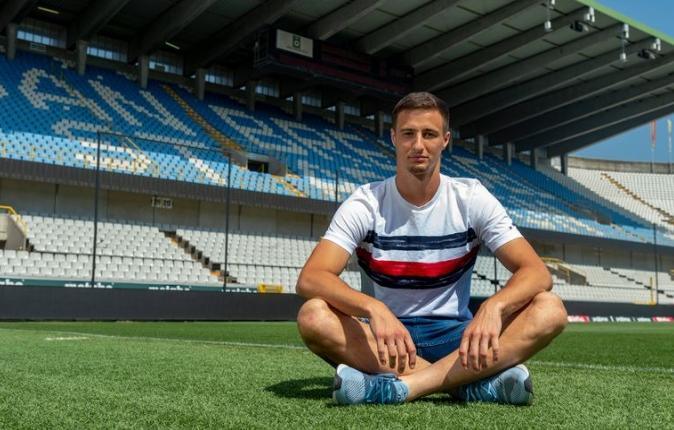 """Matej Mitrovic, Belçika basınına konuştu! """"Tamamen buranın oyuncusu olmak çok farklı bir duygu"""""""