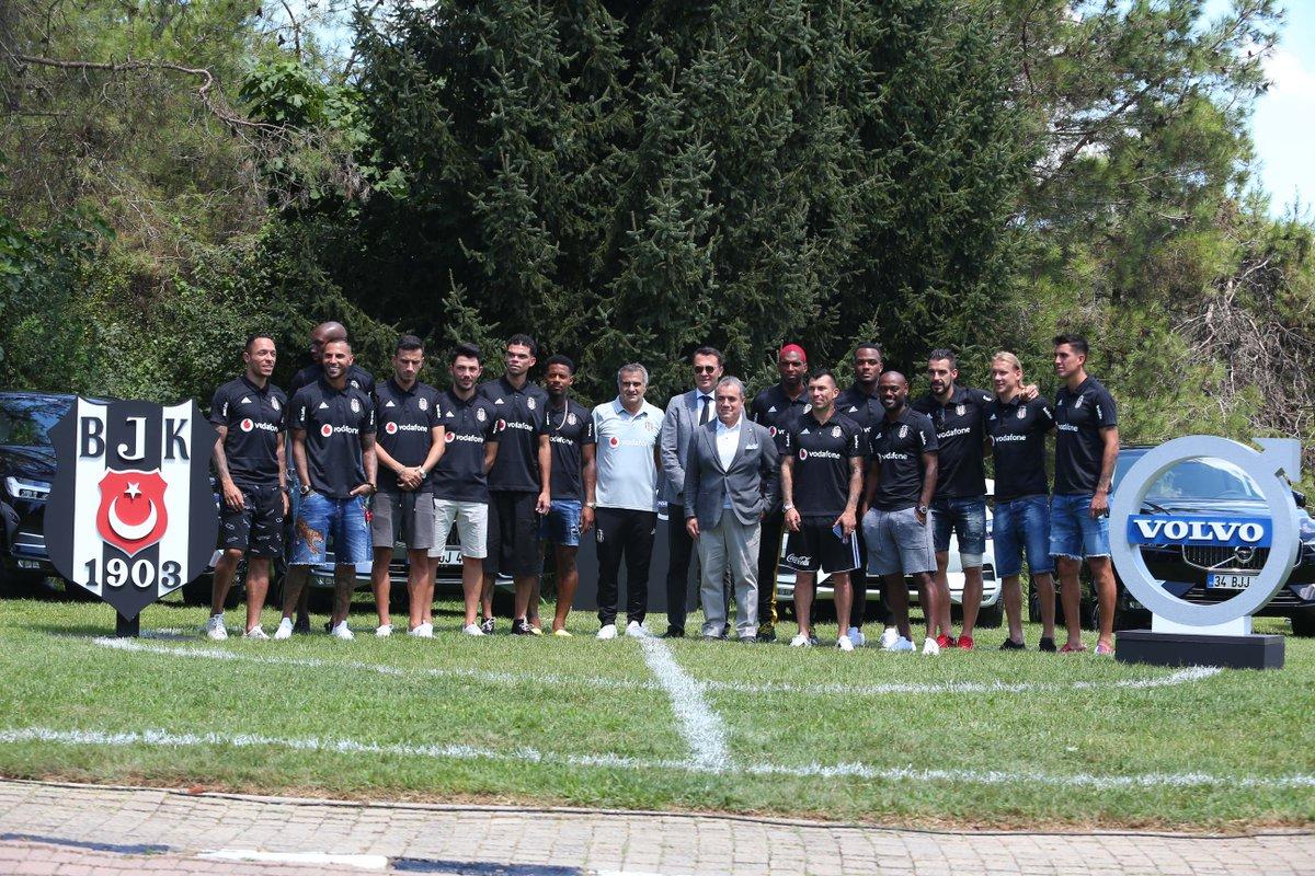 Beşiktaş, Volvo ile partnerlik anlaşması yaptı! Futbolculara araba verildi...