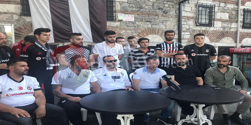 """Beşiktaş taraftarından küfüre karşınızdaki tavır! """"Küfürü bırak, Beşiktaş'ı yalnız bırakma..."""""""