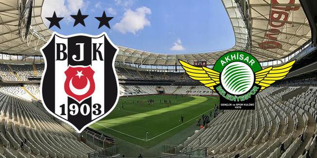 Beşiktaş - Akhisarspor CANLI anlatım