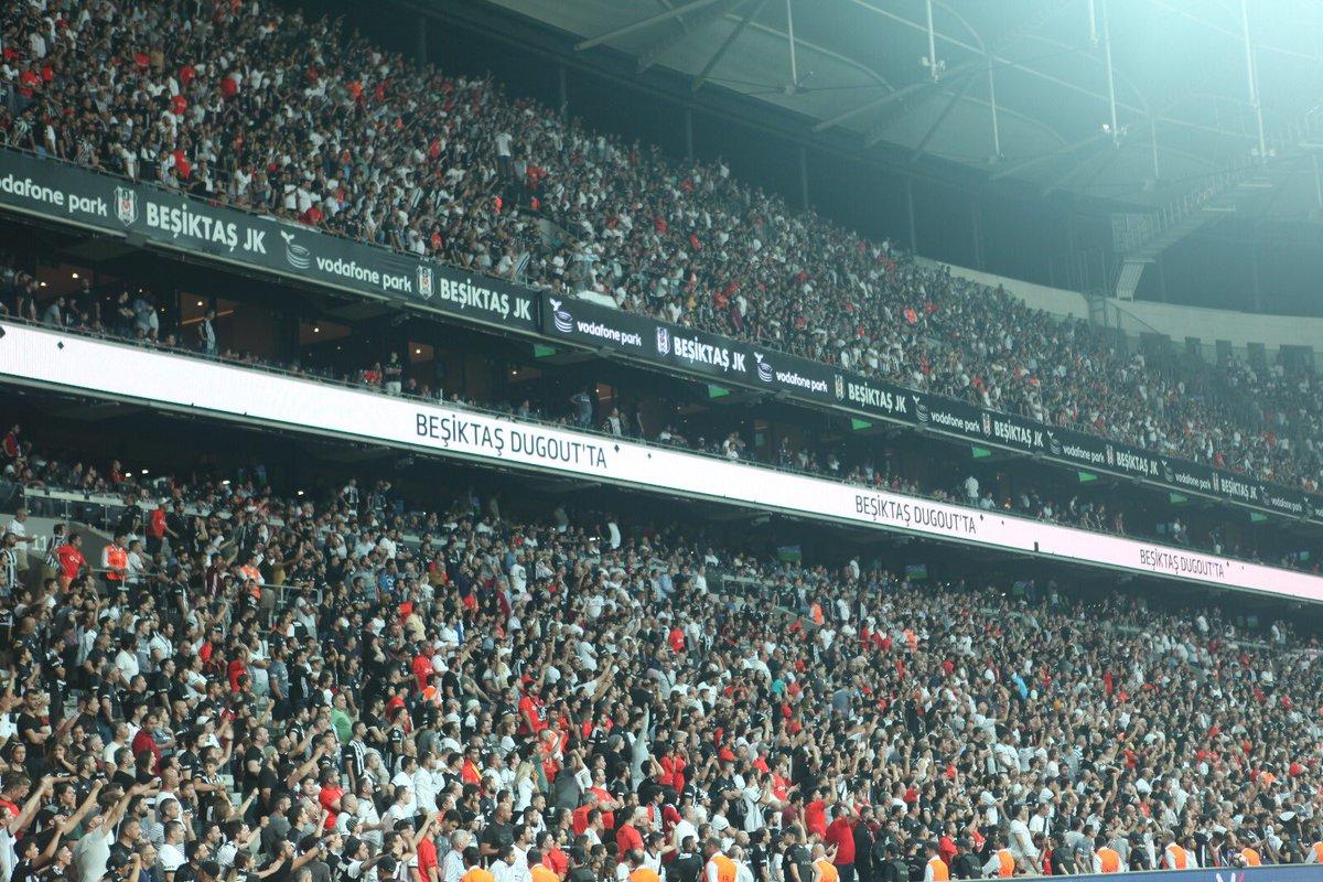 Beşiktaş'tan taraftarlara teşekkür!