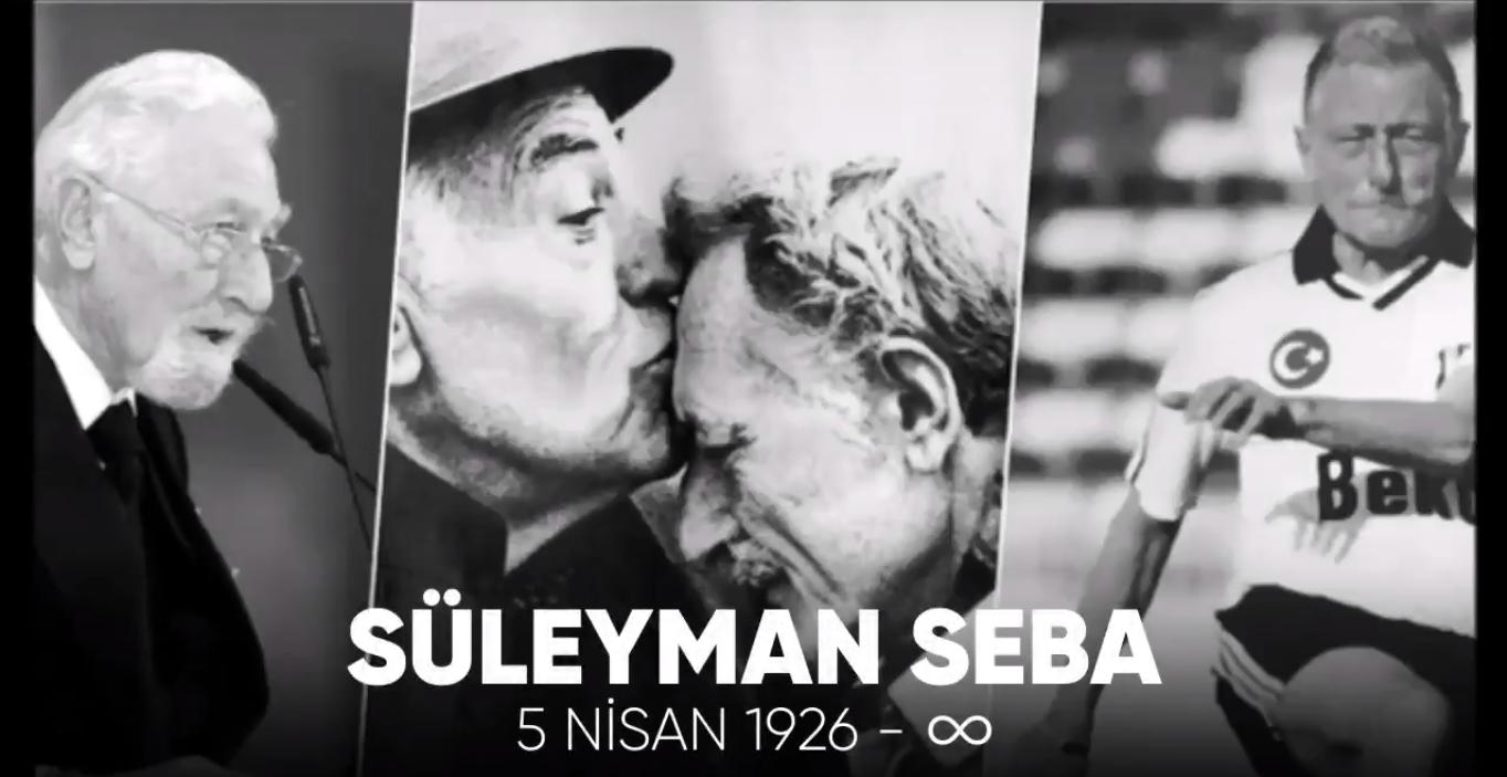 """Beşiktaş'tan """"Süleyman Seba"""" paylaşımı: """"Saygı ve özlemle anıyoruz..."""""""
